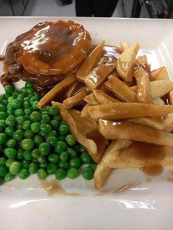 Aberdare, UK: Steak & Ale Pie
