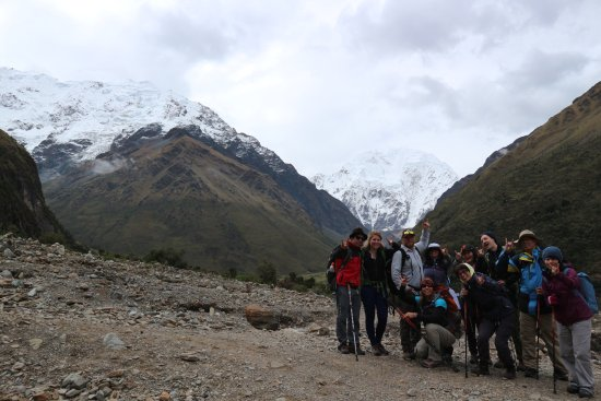 Wonderful Salkantay trek! Thanks Llama Path, especially the tour guides, Anibal&Walter, to give