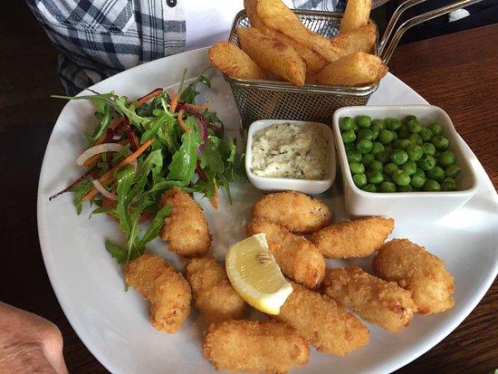 Walkington, UK: Scampi & Chips