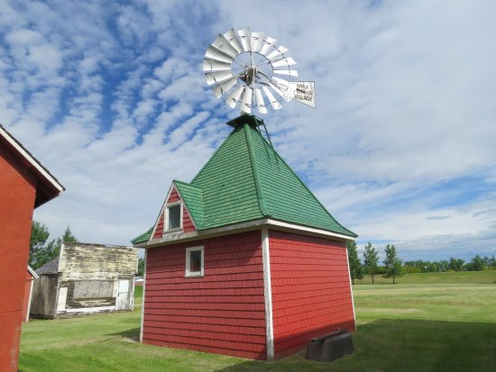 Hanna, Canada: The cutest windmill