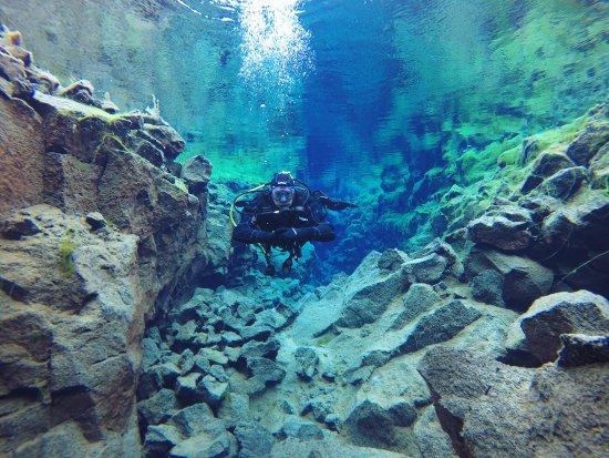 Hafnarfjordur, Iceland: Silfra