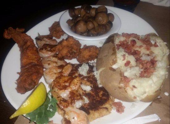 Lynchburg, VA: Seafood Sampler
