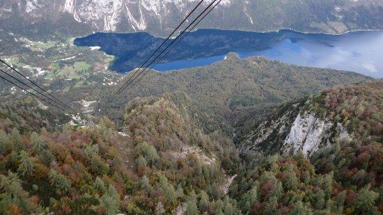 Bohinjsko Jezero, Slovenien: cable car