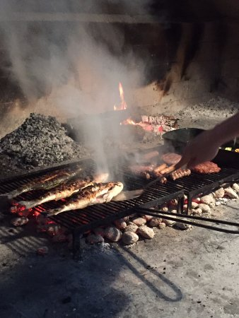 Vis, Chorwacja: Mmmm...monkfish and more.