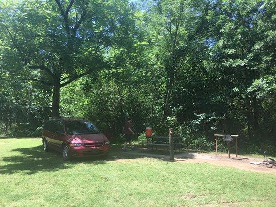 Wilburton, OK: our campsite