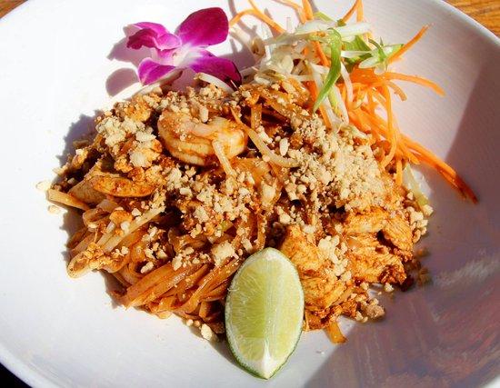 North Palm Beach, فلوريدا: Chicken & Shrimp Pad Thai