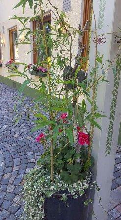 Hersbruck, Germany: Liebevoller Empfang am Eingang