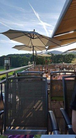 Hersbruck, Deutschland: Schöne Terrasse