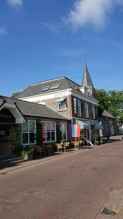 De Hoofdige Boer : Hotel met terras