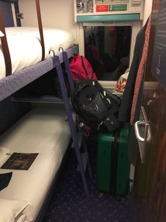 West Highland Line: Size of double sleeper car.