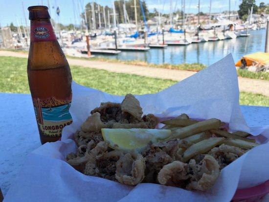 Aldo's Harbor Restaurant: Calamari and Chips