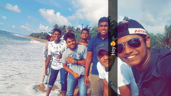 Bentota, Sri Lanka : With them at Beach