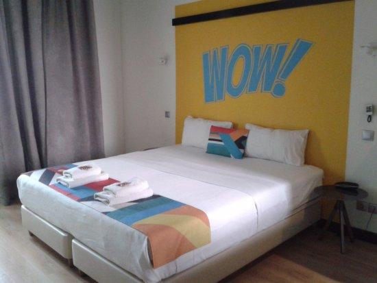 Colors Central: Een wow kamer met een wow bed .