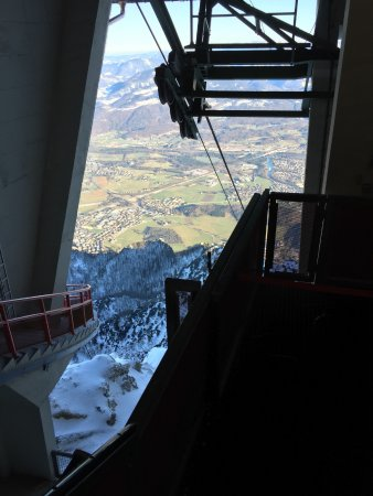 Austrian Alps, Avusturya: View from the top cable car station