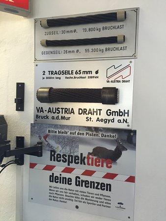 Αυστριακές Άλπεις, Αυστρία: cables