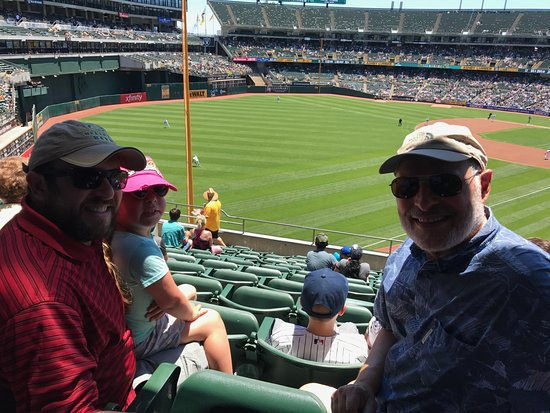 Oakland, CA: Father's Day at the Ballpark