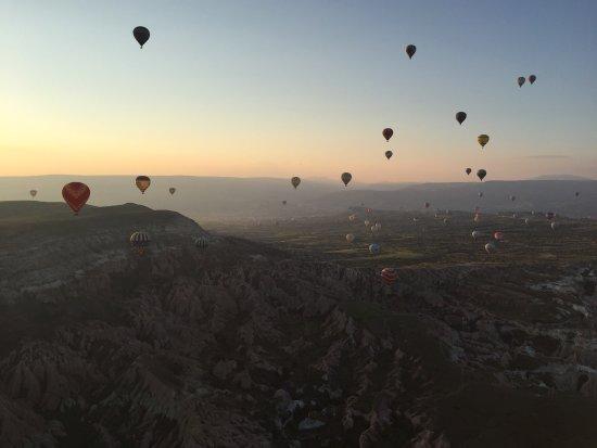 Atmosfer Balloons: Las palabras se quedan cortas para describir esta experiencia: sencillamente es espectacular !!