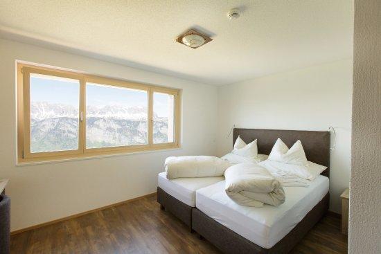 Flums, Switzerland: Zimmer mit Tahlsicht