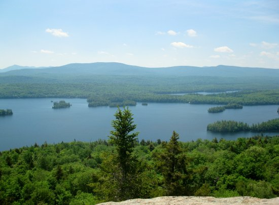 Blue Mountain Lake ภาพ