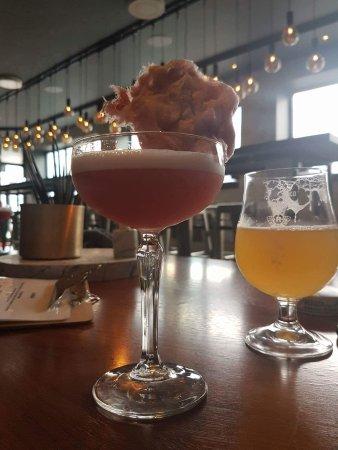 Sandnes, Norway: God tapp øl. Sinnsykt digg cocktail. Jeg drakk fruen sin å måtte kjøbe meir.