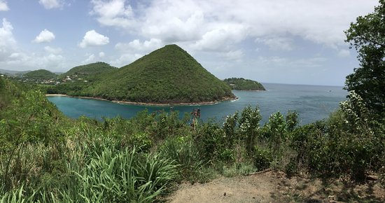 Gros Islet, St. Lucia: Near Rodney Bay and Pidgeon Island, St. Lucia. Take Lucianstyle excursion from Carnival Fascinat