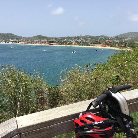 Gros Islet, St. Lucia: Rodney Bay, St. Lucia, Caribbean Island.