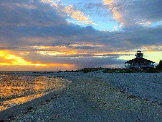 โบกากรองด์, ฟลอริด้า: Sunset at Port Boca Grande