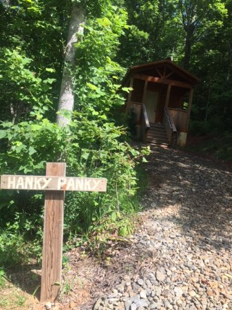 Candler, NC: Outside the Hanky Panky Cabin
