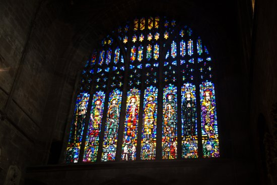 Chester Cathedral Stained Glass Windows