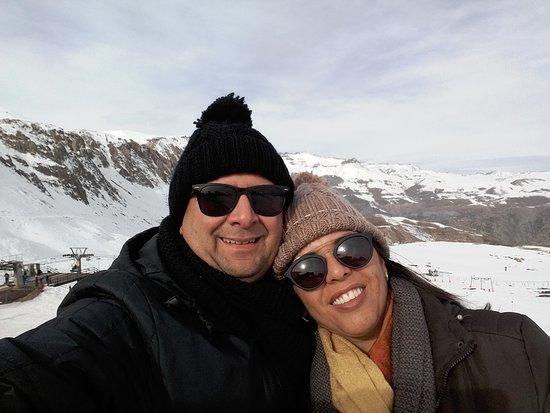 SnowTours : Eu e Raquel