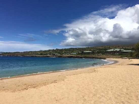 Lanai City, HI: We had a great day. I would recommend that you don't do a day trip on Sunday. Almost everything