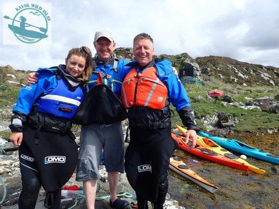 Port Ellen, UK: A great team