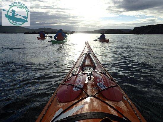 Port Ellen, UK: Evening paddle