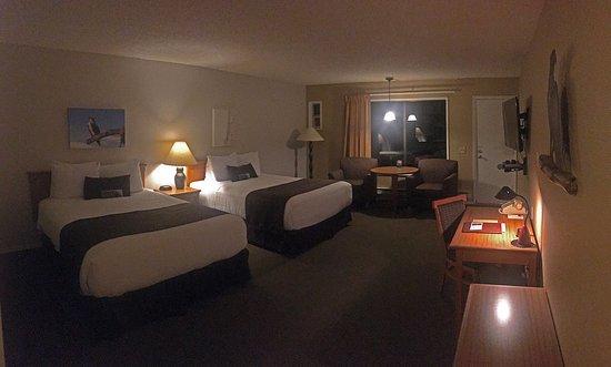 Fireside Motel: Osprey ocean view room