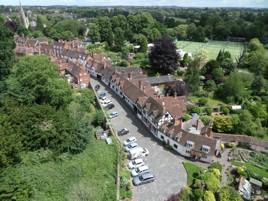 Warwick, UK: View from the battlements