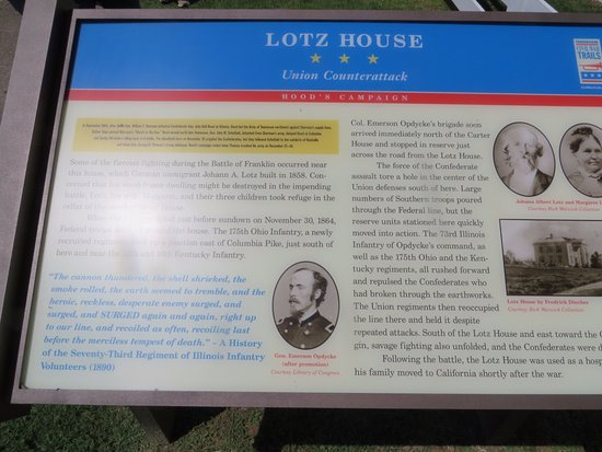 Lotz House Museum: Interpretive Marker