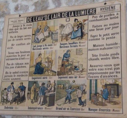 Foix, Frankrike: Affiche dans la classe 1900