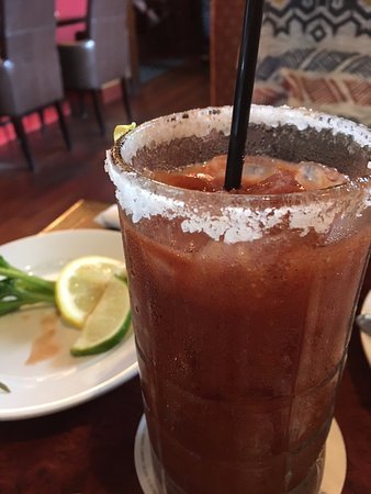 Sharon, MA: Bloody Mary - salt rim