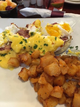 Sharon, MA: Overcooked Eggs Benedict