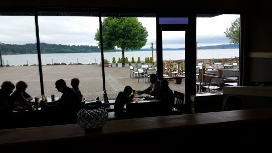 Silverdale, WA: View from Breakfast area