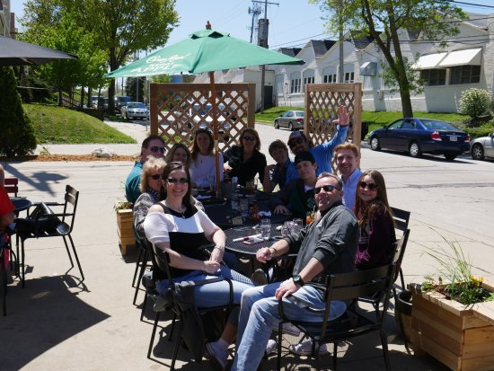 West Allis, WI: The Patio is Open!