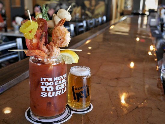 West Allis, WI: Blood Bar ever Saturday and Sunday Brunch But we'll build you one Tuesday - Friday