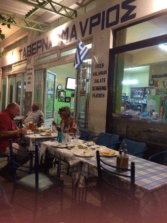 Archangelos, Griechenland: Esterno notte