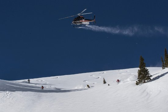 Telluride Helitrax, heli-skiing in Colorado