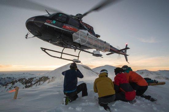 Telluride, CO: Helicopter skiing in Colorado