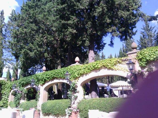 Montespertoli, Italia: luogo dove fanno le cerimoie all'aperto;in serata è stato possibile adibirlo ad angolo bar