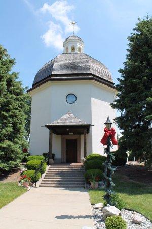 Bronner's Christmas Wonderland: The Silent Night Chapel was so beautiful!