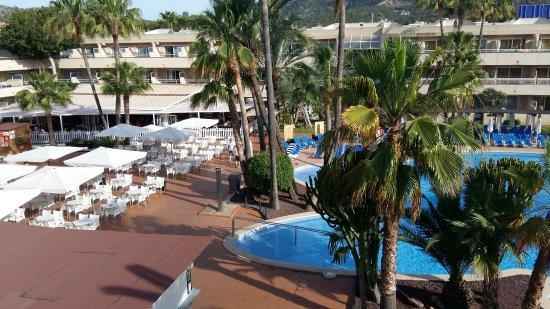 Hotel Ibersol Son Caliu Mar: Vue de notre chambre