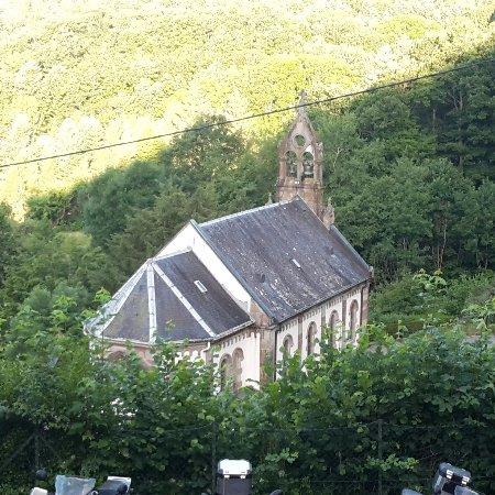 """Masevaux, Francia: La chapelle vue du """"pèlerinage"""""""