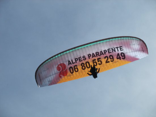 Les Deux-Alpes, Frankreich: donw side up
